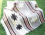Карпатський ліжник, вовняний плед ЗОРЕПАД 150*210, фото 3