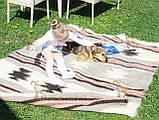 Лижнык карпатский, шерстяной плед ЗВЕЗДОПАД 150*210, фото 2