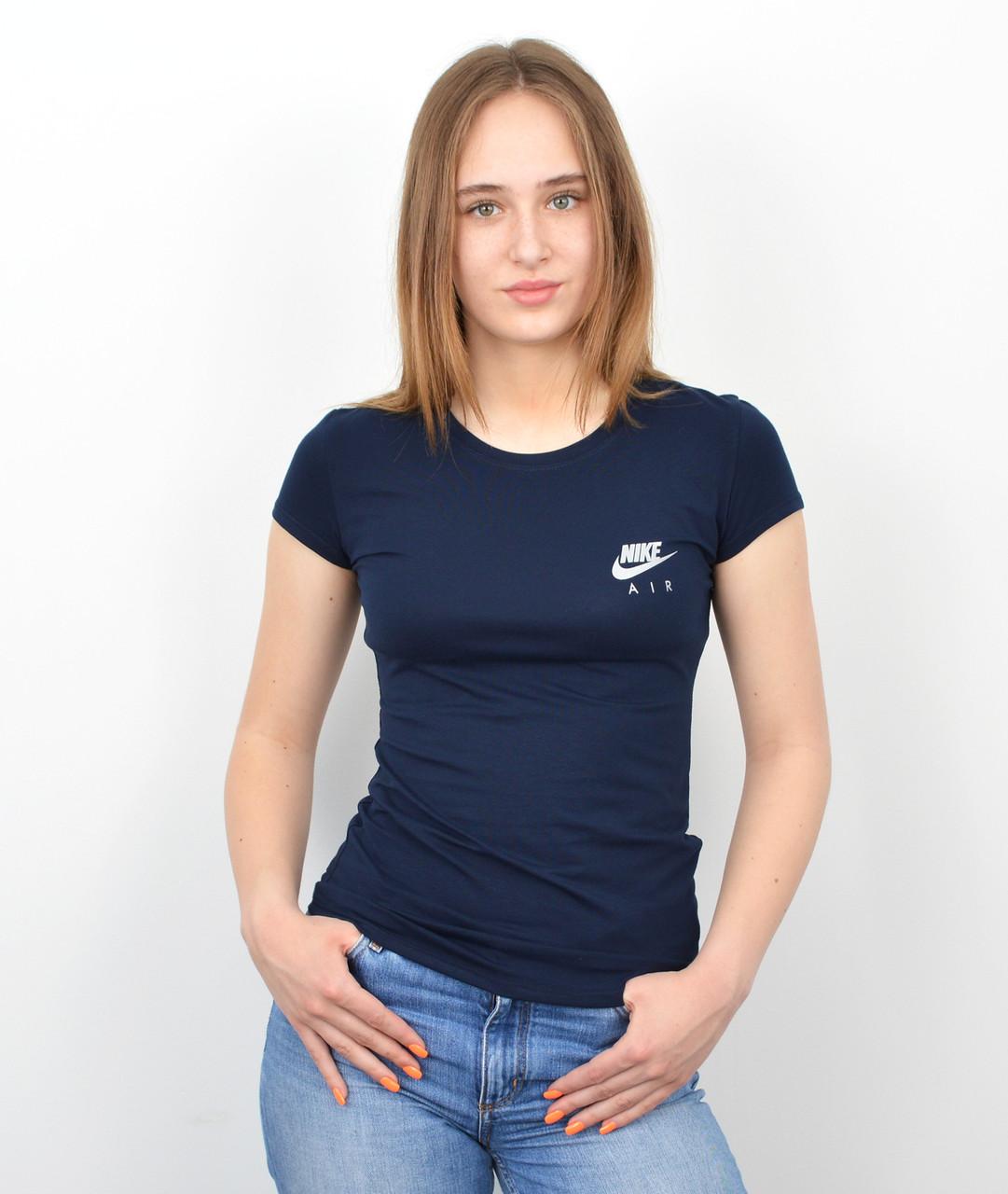 Женская футболка оптом спорт S0520 Синий