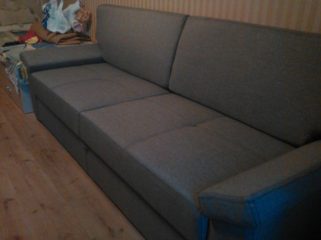Перетяжка спального дивана. Перетяжка раскладного дивана Днепр.