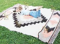 Лижнык карпатский, шерстяной плед ПРАЗДНИК 150*210