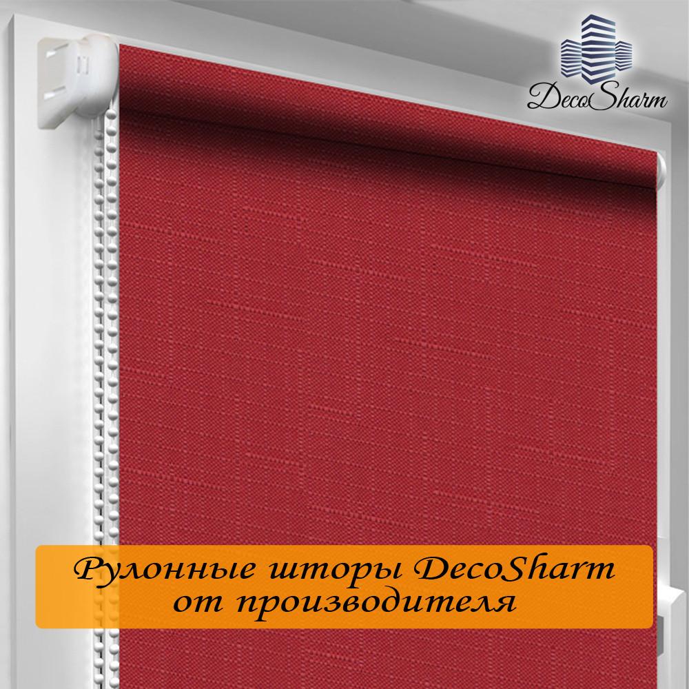 "Рулонная штора ""DecoSharm"" Лён 888"