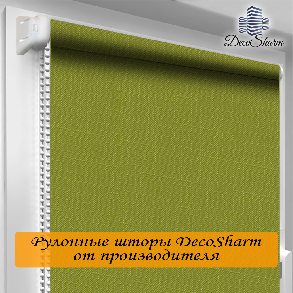 "Рулонная штора ""DecoSharm"" Лён 7383"