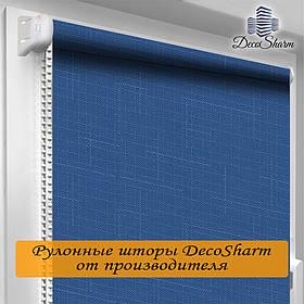 "Рулонная штора ""DecoSharm"" Лён 874"