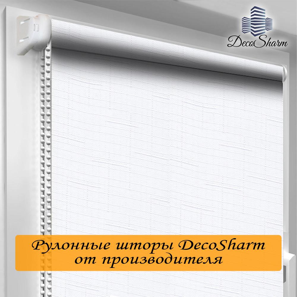 "Рулонная штора ""DecoSharm"" Лён 800"