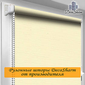 "Рулонная штора ""DecoSharm"" Лён 875"