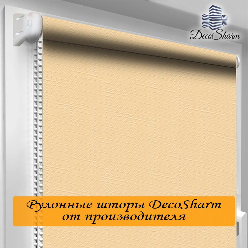 "Рулонная штора ""DecoSharm"" Лён 877"