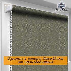 "Рулонная штора ""DecoSharm"" Лён 7437"