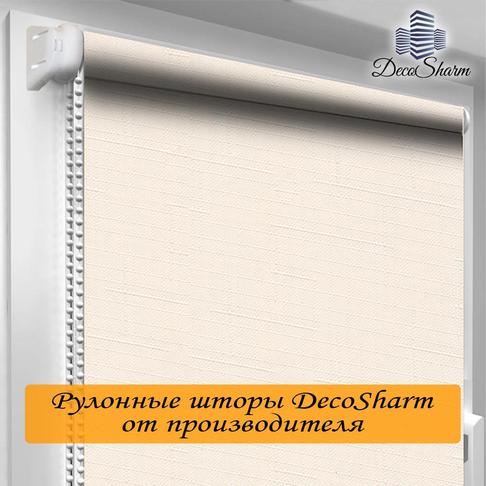 "Рулонная штора ""DecoSharm"" Лён 2070"