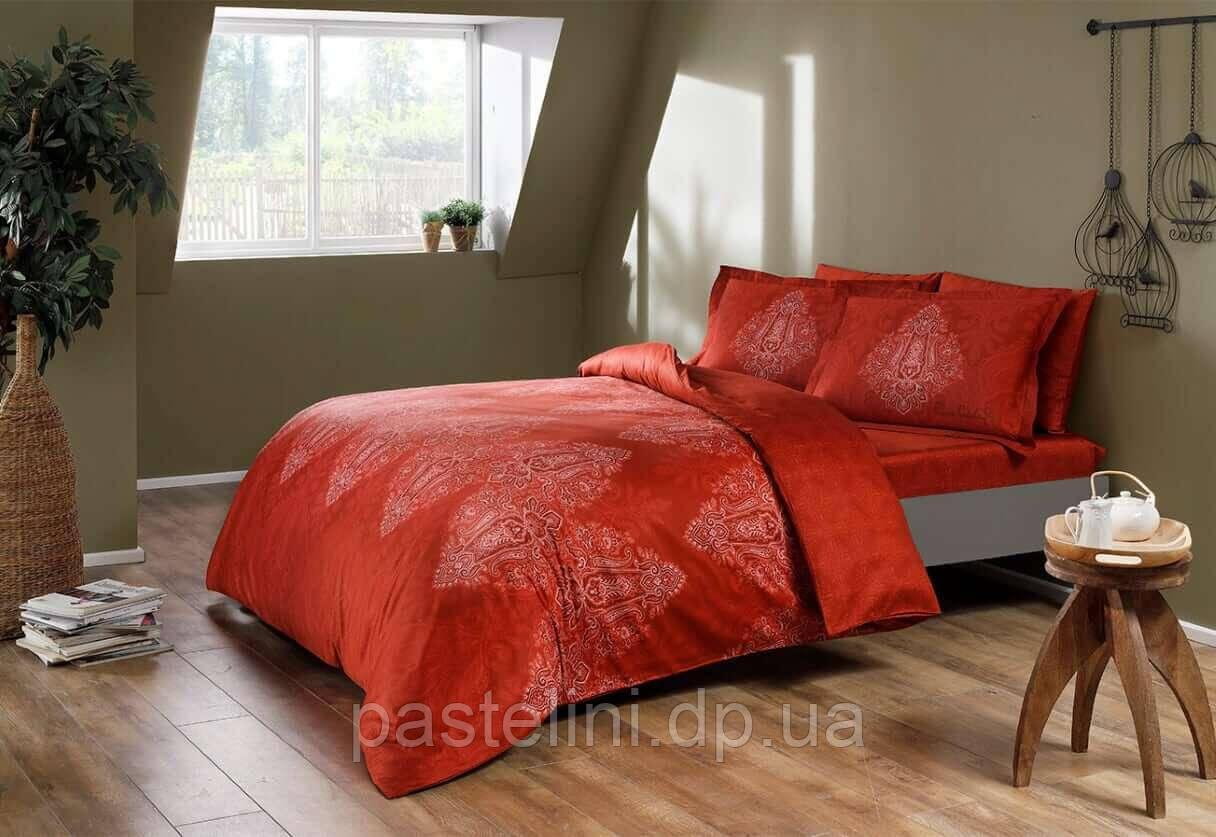 ТАС Digital Caledon red семейный комплект постельного белья