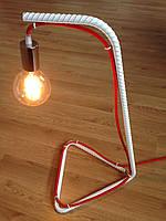 Железный светильник в стиле ЛОФТ