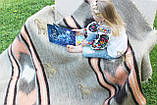 Карпатський ліжник, вовняний плед МРІЯ 150*210, фото 2