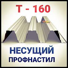 Профнастил Pruszynski Т 160 оцинкованный несущий толщина 1,25  мм