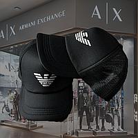 Кепка мужская Armani, Philipp Plein, Nike, Supreme стильная бейсболка черного цвета Германия