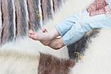 Лижник Карпатський плед з вовни кольорова Смужка, фото 4