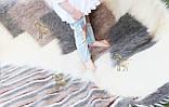 Лижник Карпатський плед з вовни кольорова Смужка, фото 2