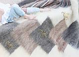 Лижник Карпатський плед з вовни кольорова Смужка, фото 3