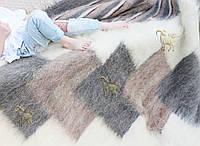 Лижник плед из овечьей шерсти ЗЕБРА 150х200