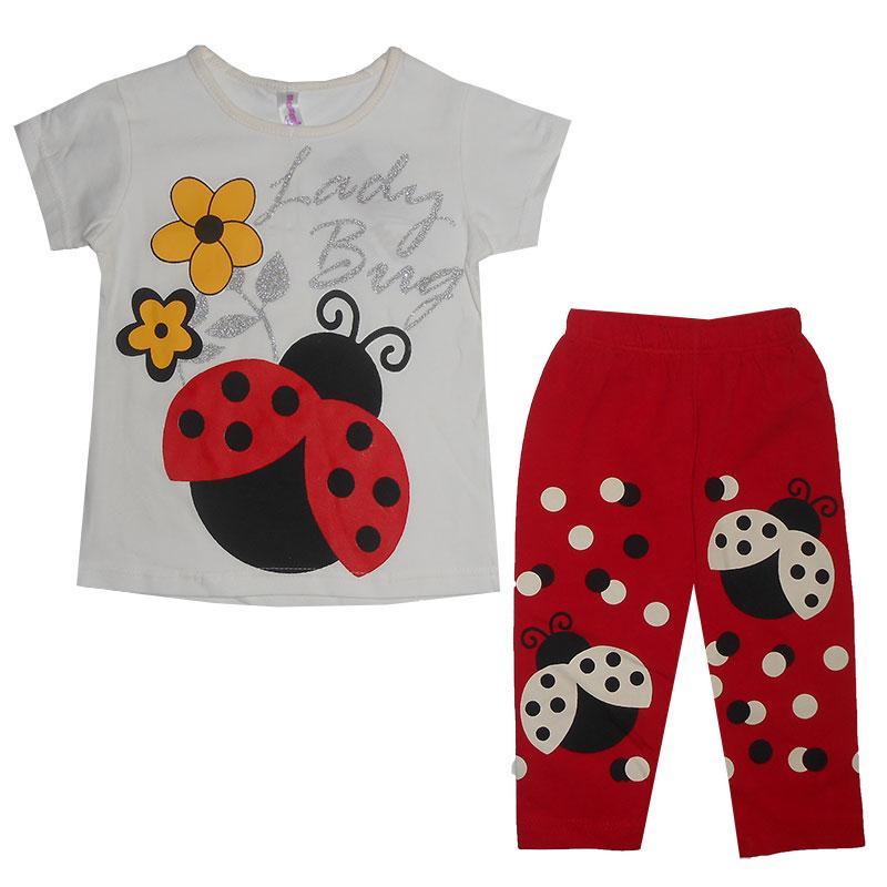 Костюм для девочки 2-5лет(92-110) 214805 футболка и лосины