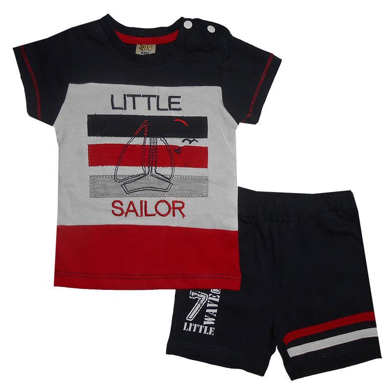 Костюм для мальчика 68-86 арт. 212377 футболка и шорты
