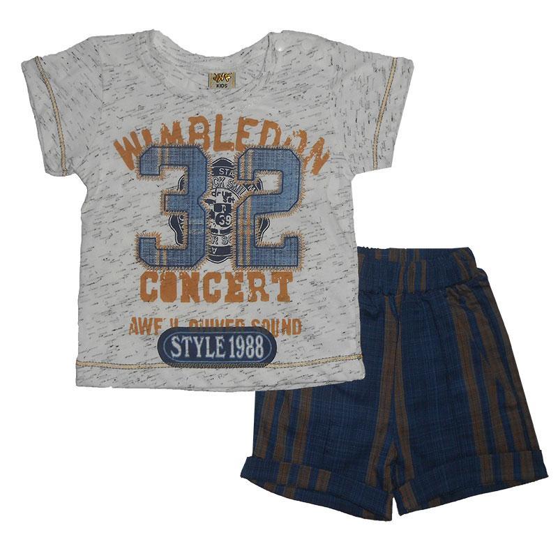Костюм для мальчика 68-86 арт.214902 футболка и шорты