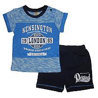 Костюм для мальчика 68-86 арт. 213628 футболка и шорты