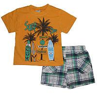 Костюм для мальчика 80-98  217219 футболка+шорты                                                    , фото 1