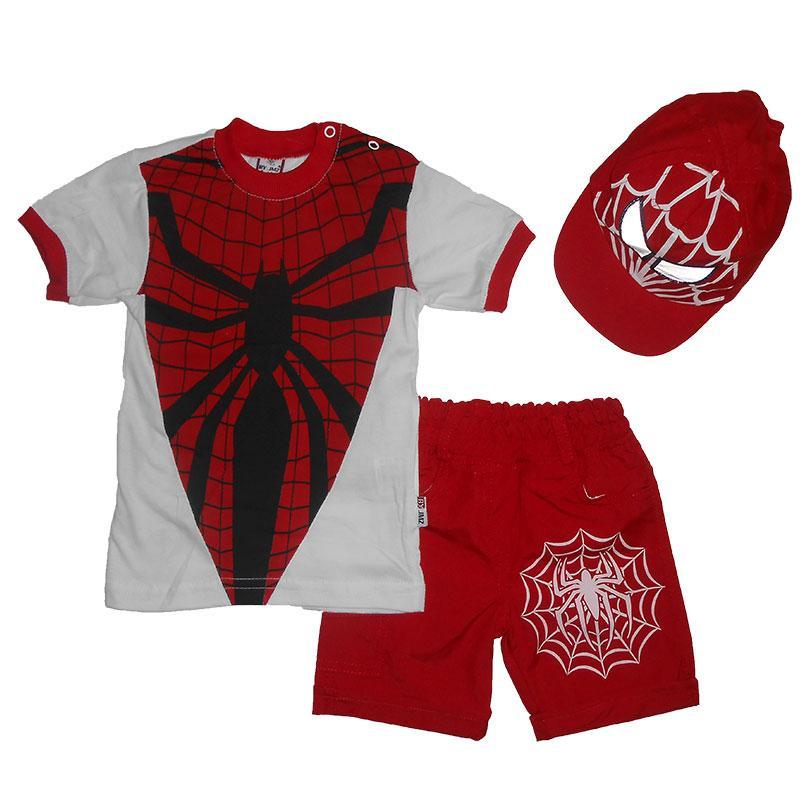 Костюм для мальчика 86-98  арт.212390 футболка, шорты и кепка
