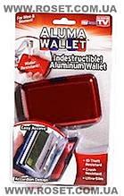 Гаманець водостійкий алюмінієвий Aluma Wallet Алюма Уолет