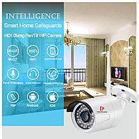 PRIPASO - IP наружная камера  WiFi  1080p (удаленный просмотр), сигнализация - ORIGINAL