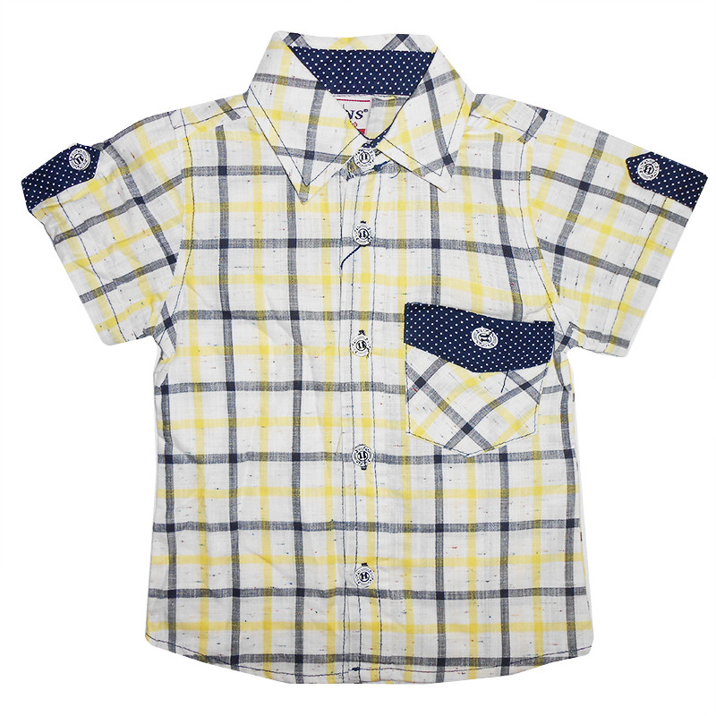 Рубашка для мальчика 1-4 года (86-104) 511