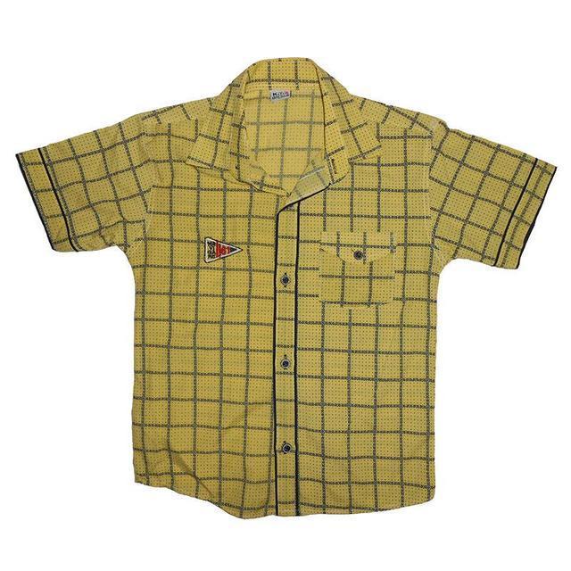 Рубашка мальчик 110-128 , 7012 клеточка