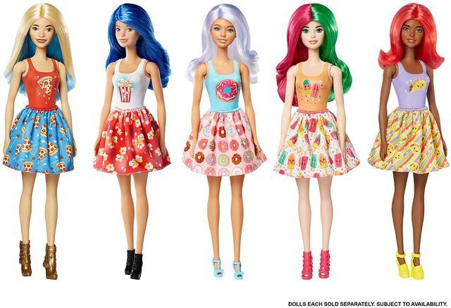Игровой набор Барби Цветное перевоплощение сюрприз