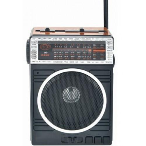 Радиоприемник колонка MP3 Golon RX-078 Wooden