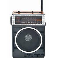 Радиоприемник колонка MP3 Golon RX-078 Wooden, фото 1
