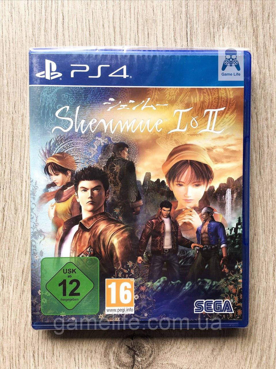 Shenmue 1 & 2 (англ.) PS4