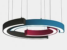 Світильник Напівкільце SEMI-RING світлодіодний кільцевий підвісний для інтер'єру
