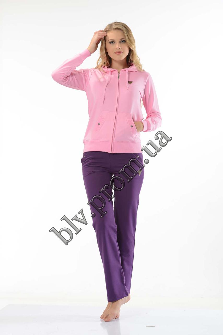 Недорогие женские спортивные костюмы из турции в интернет магазине    FM14652 Pink