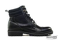 Мужские кожаные зимние ботинки Bastion Best Winter black