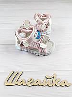 Босоножки сандалии 22- 25 (14,5-16, 5 см) детские на девочку, фото 1