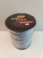 Леска жилка для мотокос триммера 3,0 мм квадрат армированный 300 м СИЛА 550245