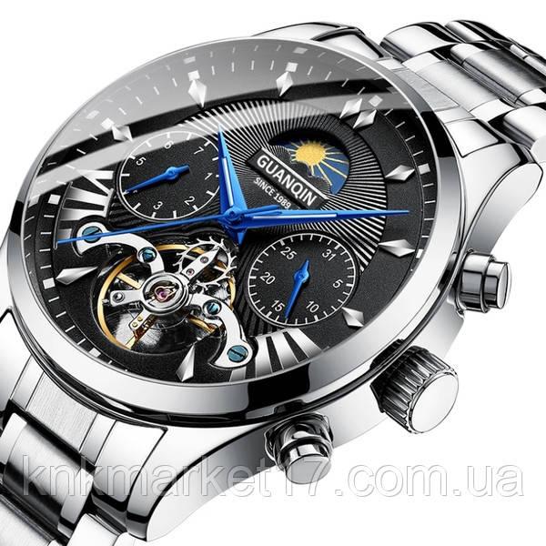 Guanquin Мужские часы Guanquin Prestige Silver