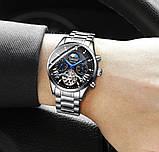 Guanquin Мужские часы Guanquin Prestige Silver, фото 4