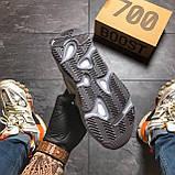 Женские кроссовки Adidas Yeezy Boost 700 V2 Blue, Женские Адидас Изи Буст 700 Голубые, фото 7