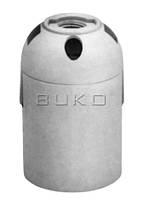 Патрон BUKO BK258 E27 пластиковый, белый