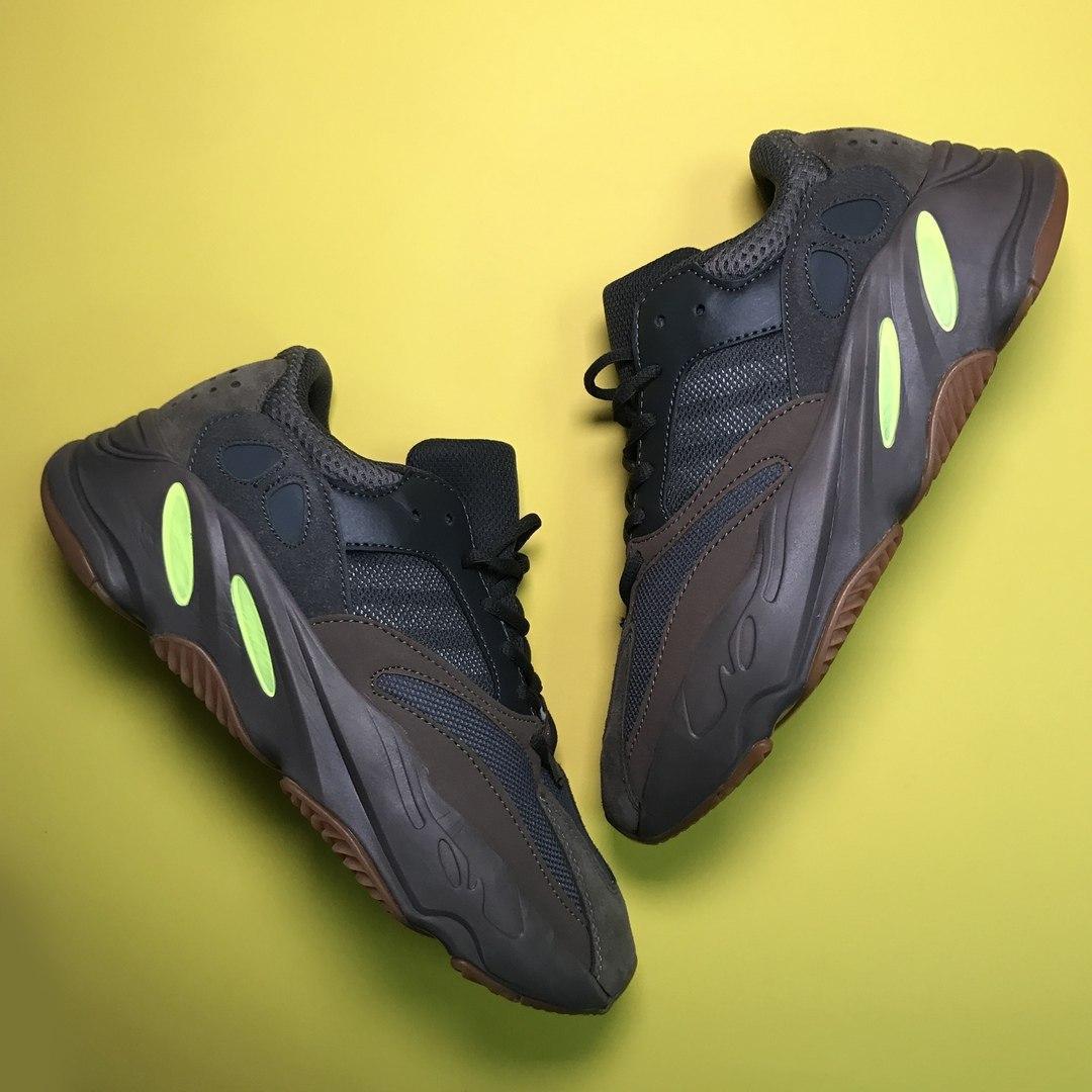 Женские кроссовки Adidas Yeezy Boost 700 Mauve, Женские Адидас Изи Буст 700 Коричневые