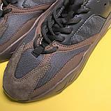 Женские кроссовки Adidas Yeezy Boost 700 Mauve, Женские Адидас Изи Буст 700 Коричневые, фото 6