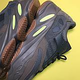 Женские кроссовки Adidas Yeezy Boost 700 Mauve, Женские Адидас Изи Буст 700 Коричневые, фото 8