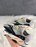 Женские кроссовки Adidas Yeezy Boost Wave Runner 700, Женские Адидас Изи Буст 700 Белые