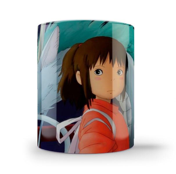 Кружка чашка Тихиро и Хаку Унесенные призраками